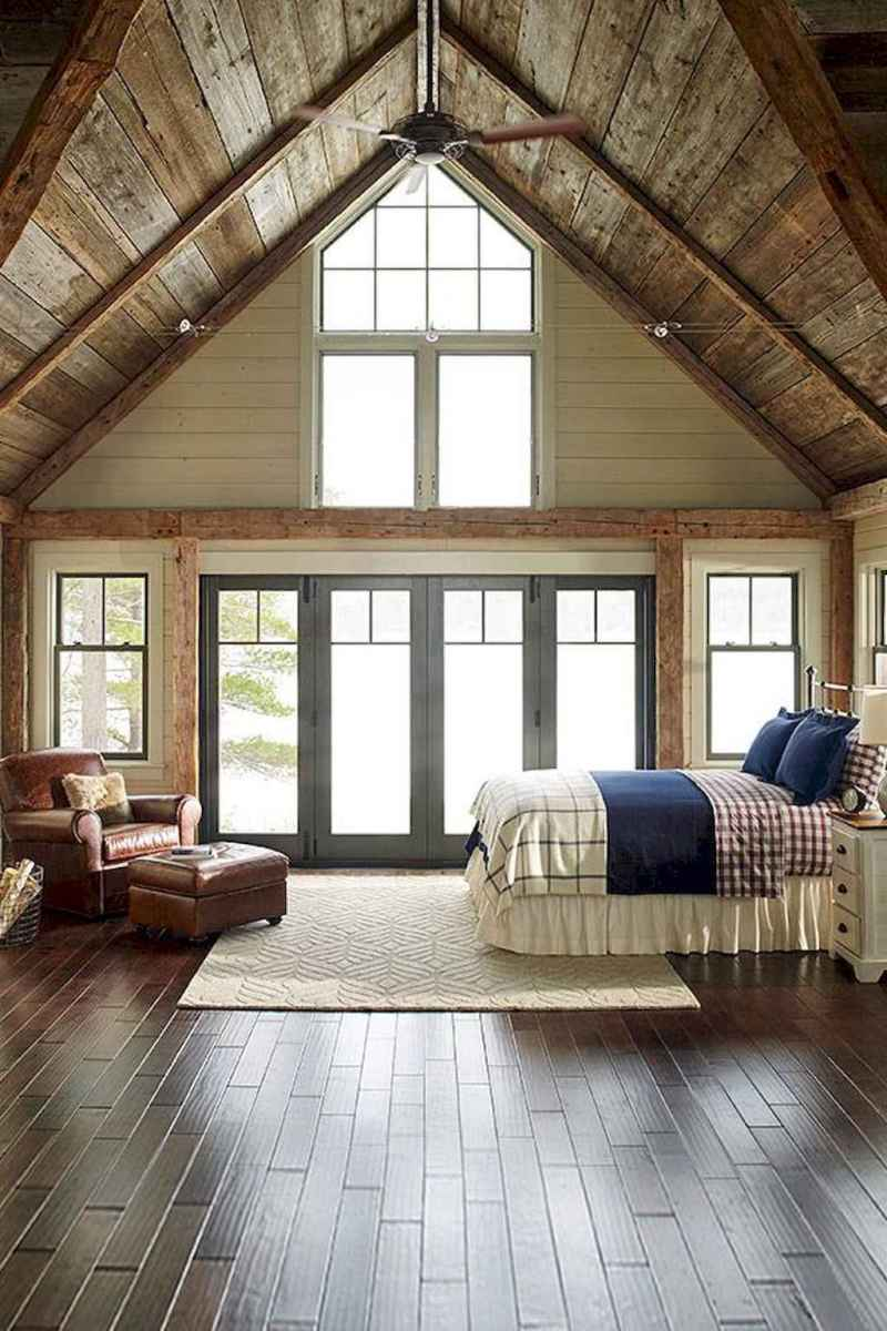 45 rustic lake house bedroom decorating ideas