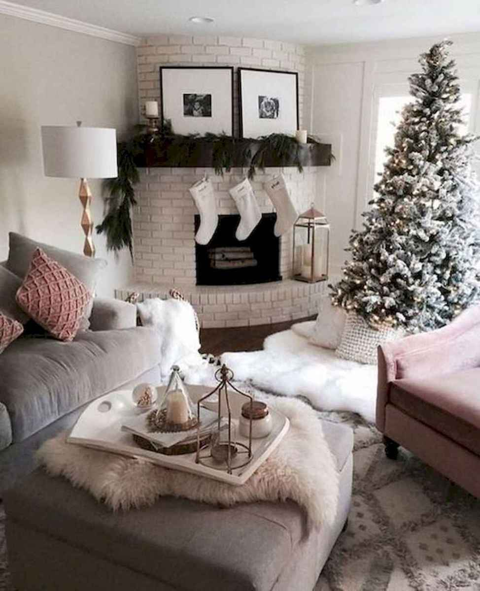 30 cozy christmas living rooms decorating ideas