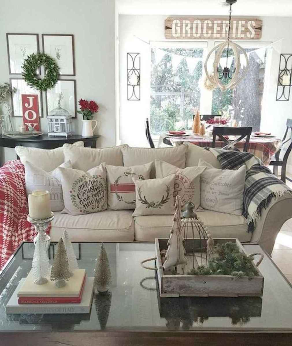 35 cozy christmas living rooms decorating ideas