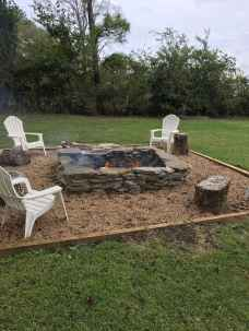 01 cozy outdoor fire pit seating design ideas for backyard