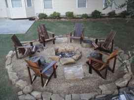 09 cozy outdoor fire pit seating design ideas for backyard