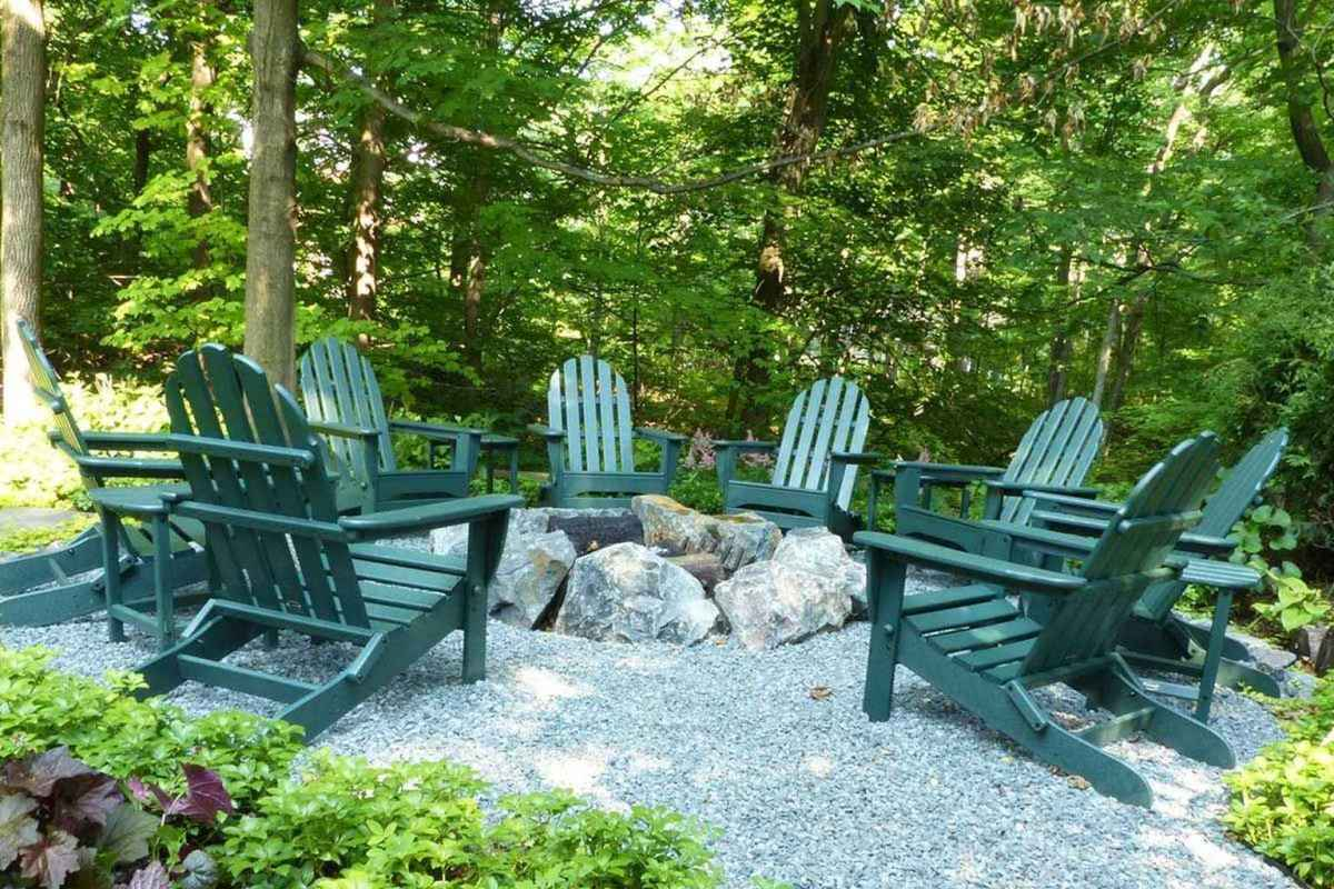 27 cozy outdoor fire pit seating design ideas for backyard