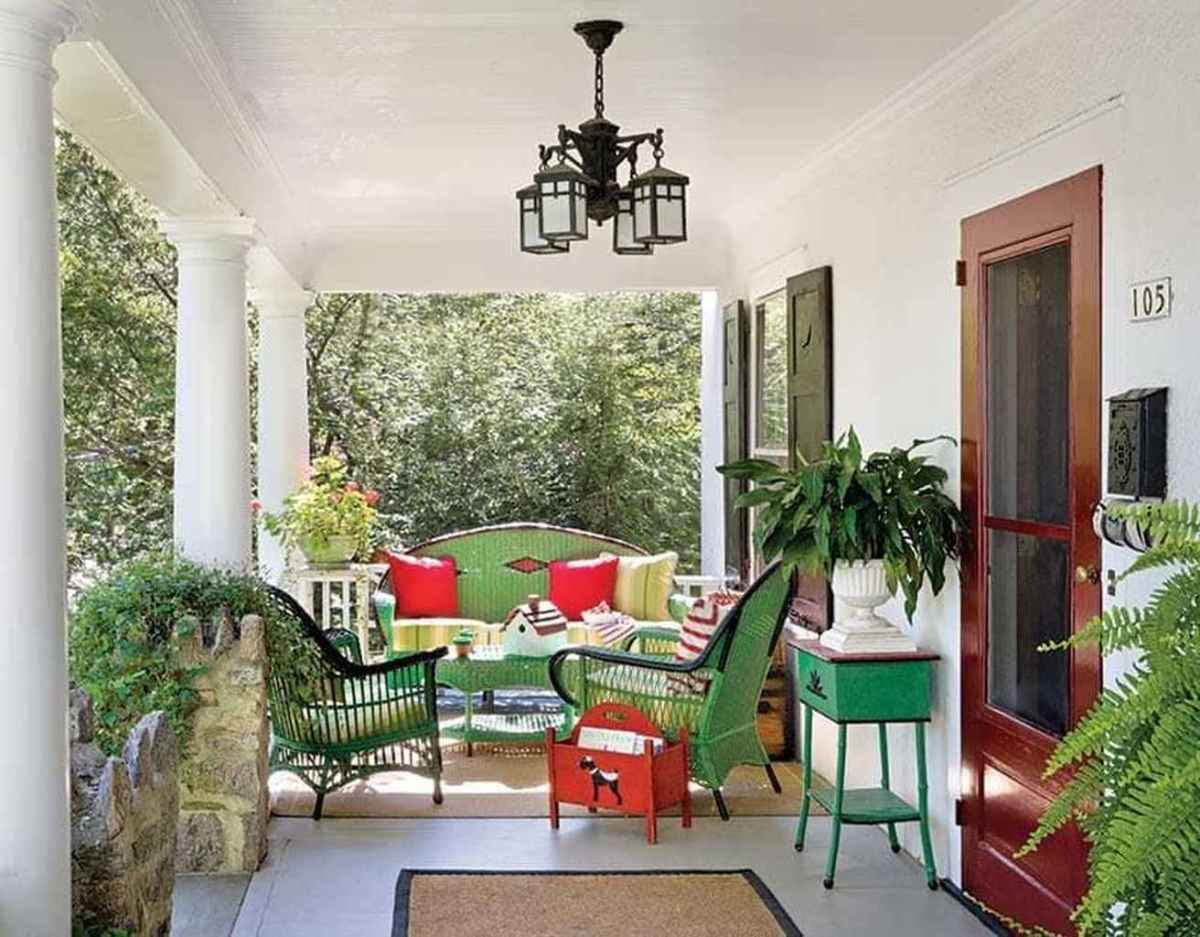 29 amazing summer front porch seating ideas