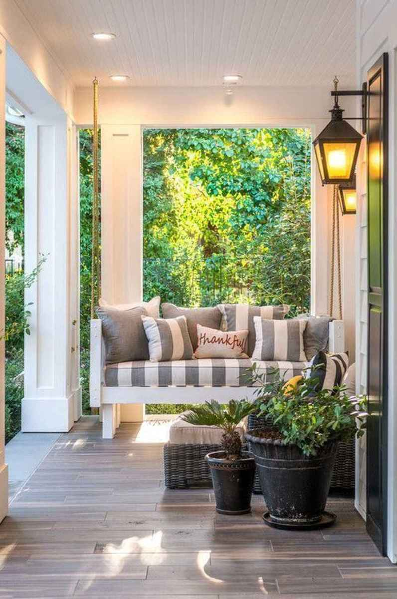 34 amazing summer front porch seating ideas