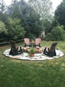 39 cozy outdoor fire pit seating design ideas for backyard