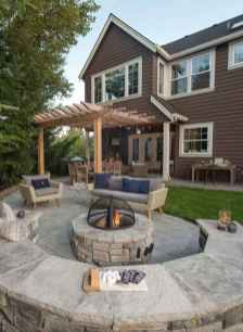 47 cozy outdoor fire pit seating design ideas for backyard
