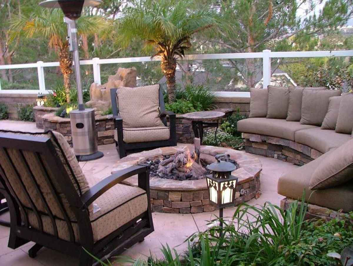 52 cozy outdoor fire pit seating design ideas for backyard