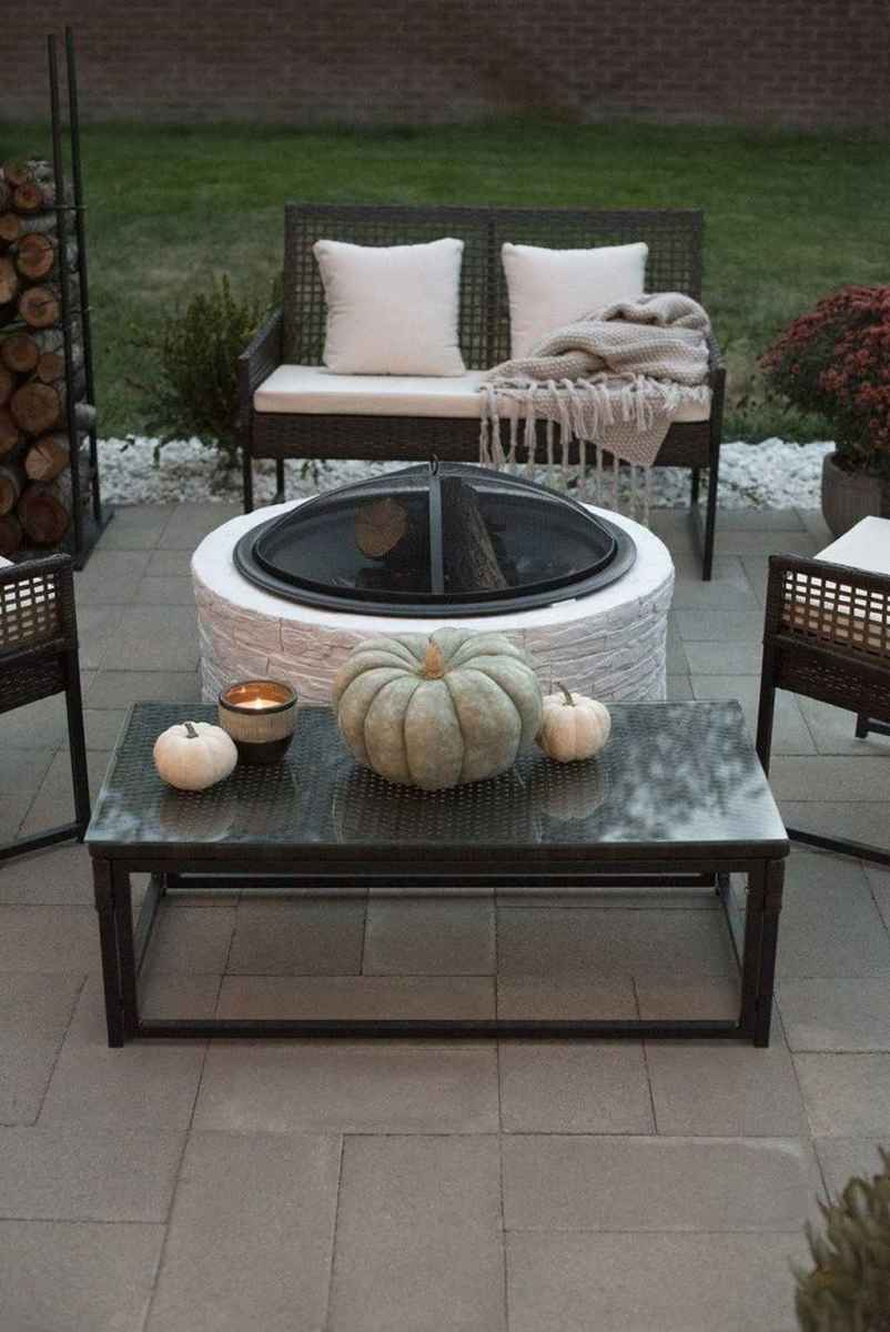 53 cozy outdoor fire pit seating design ideas for backyard