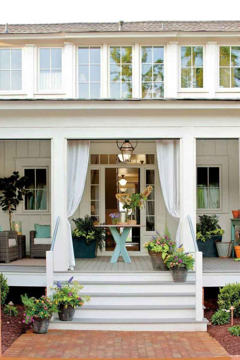 58 amazing summer front porch seating ideas