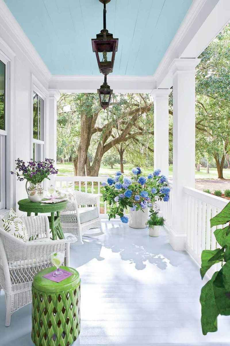 59 amazing summer front porch seating ideas