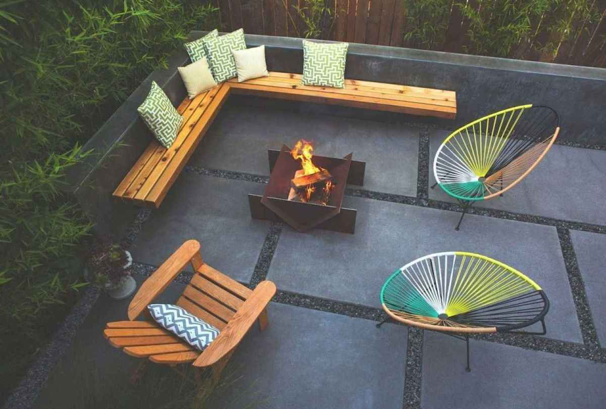 64 cozy outdoor fire pit seating design ideas for backyard
