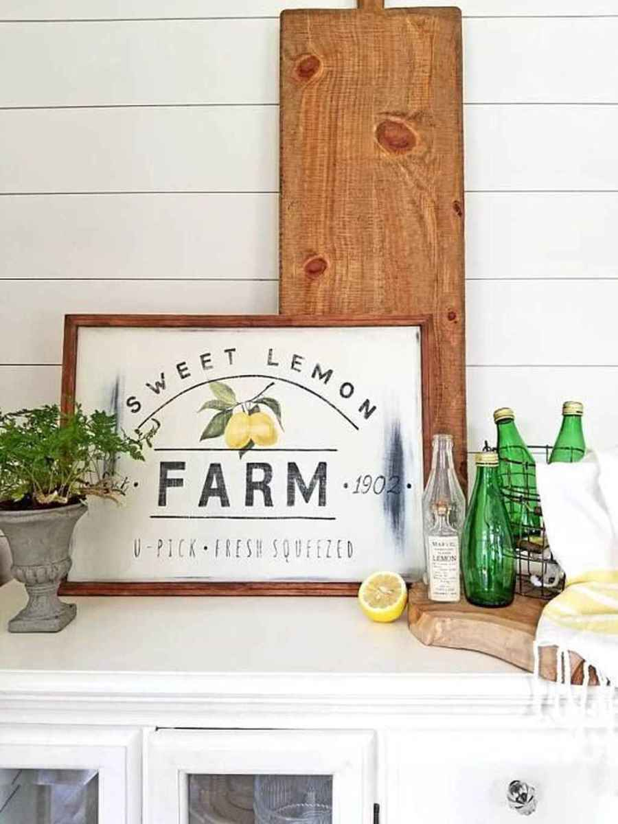 67 attractive summer farmhouse decor ideas for your home inspiration
