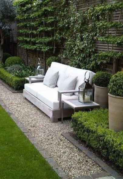 74 small courtyard garden with seating area design ideas