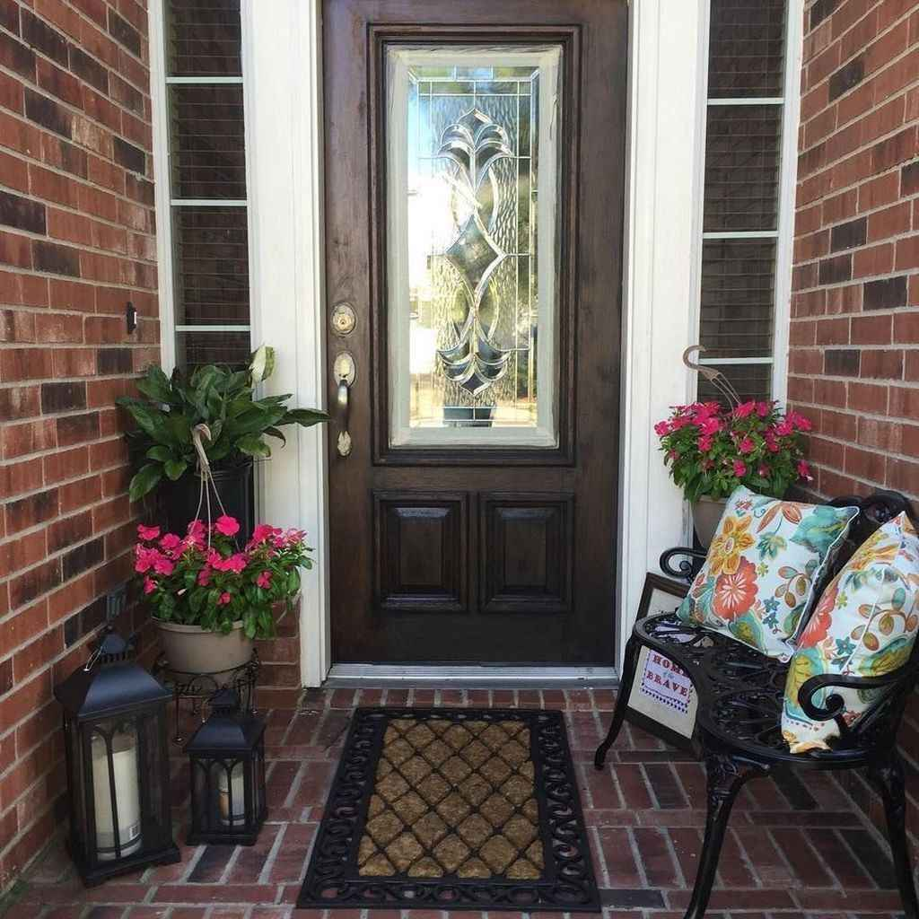 81 amazing summer front porch seating ideas