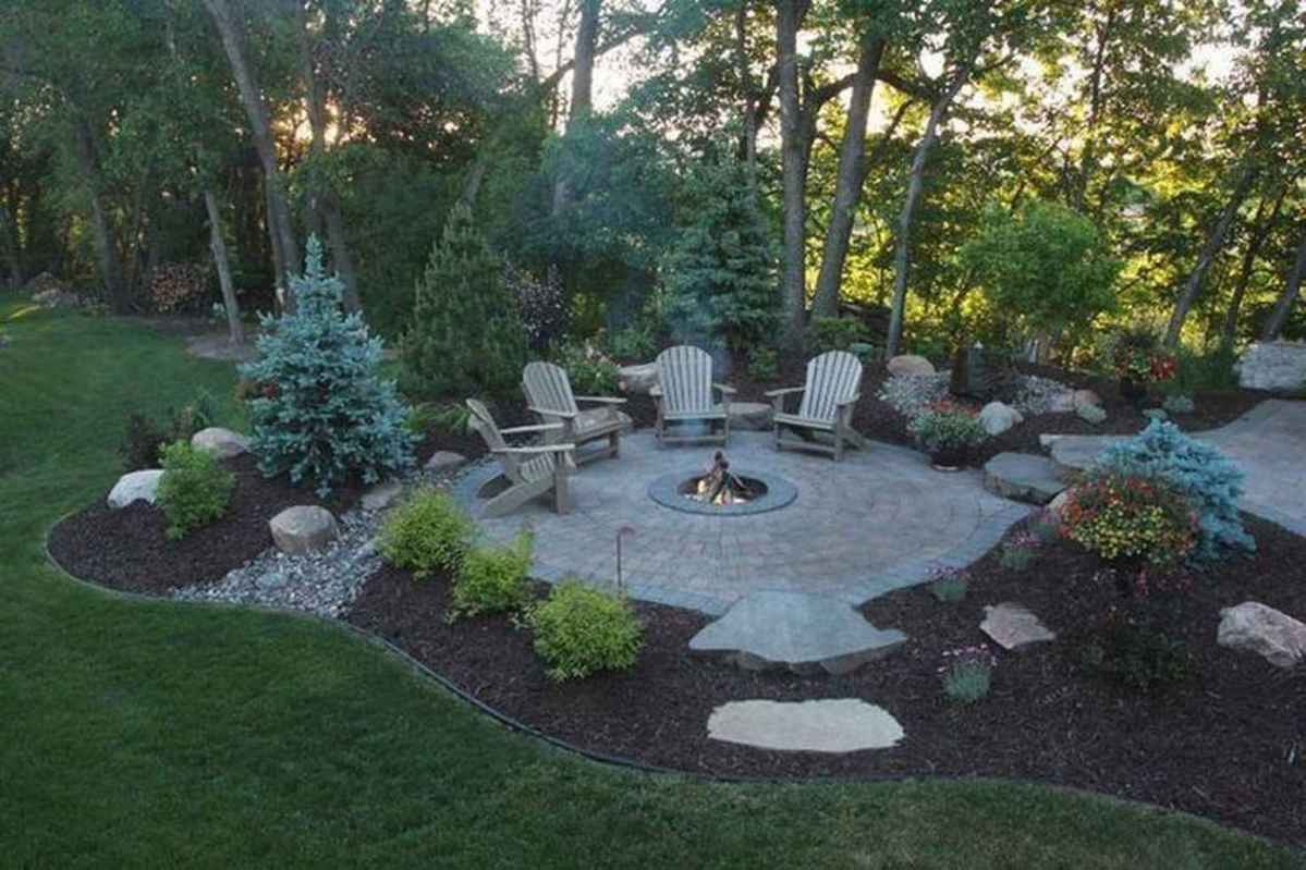 85 cozy outdoor fire pit seating design ideas for backyard