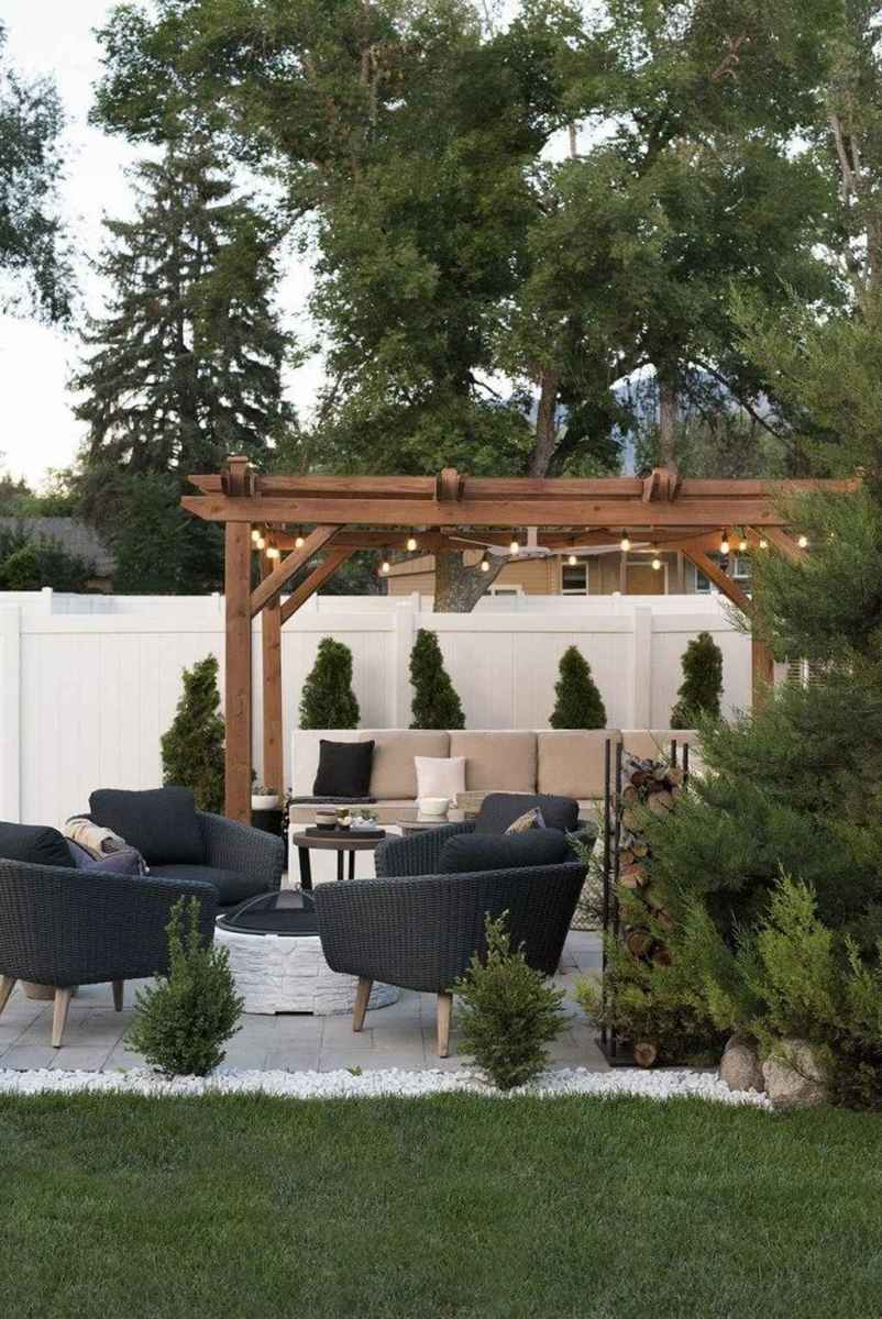 91 cozy outdoor fire pit seating design ideas for backyard