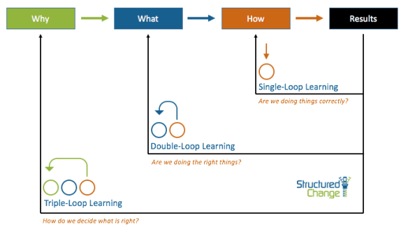 Triple Loop Learning and Behaviours