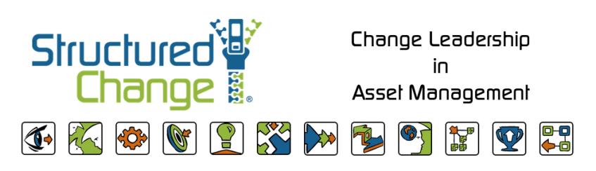 Structured Change - Change Leadership in Asset Management