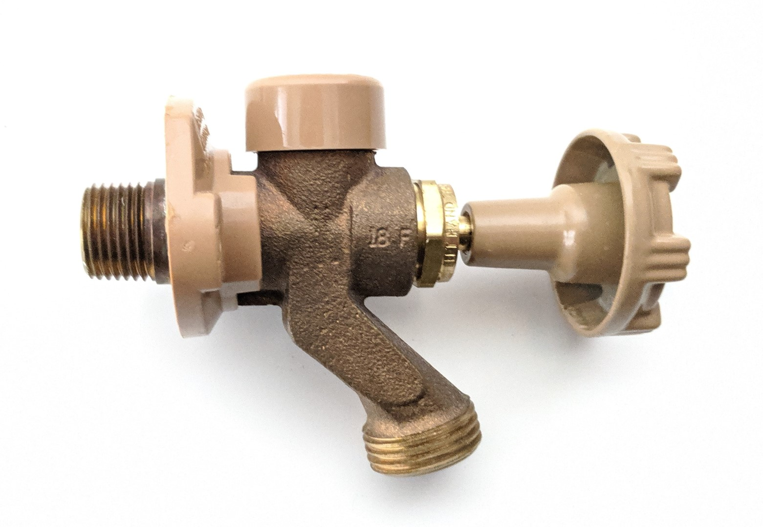 frost free faucets are now required in