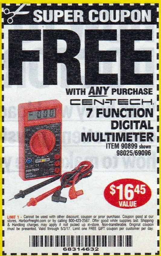 How to use a Harbor Freight coupon Is it possible to save even more off Harbor Freight's already-low prices? Absolutely! Online discounts expand your options for saving: the store regularly offers 20% off any one item coupons. Keep an eye out for amazing discount codes around major holidays like Father's Day and Christmas%(2K).