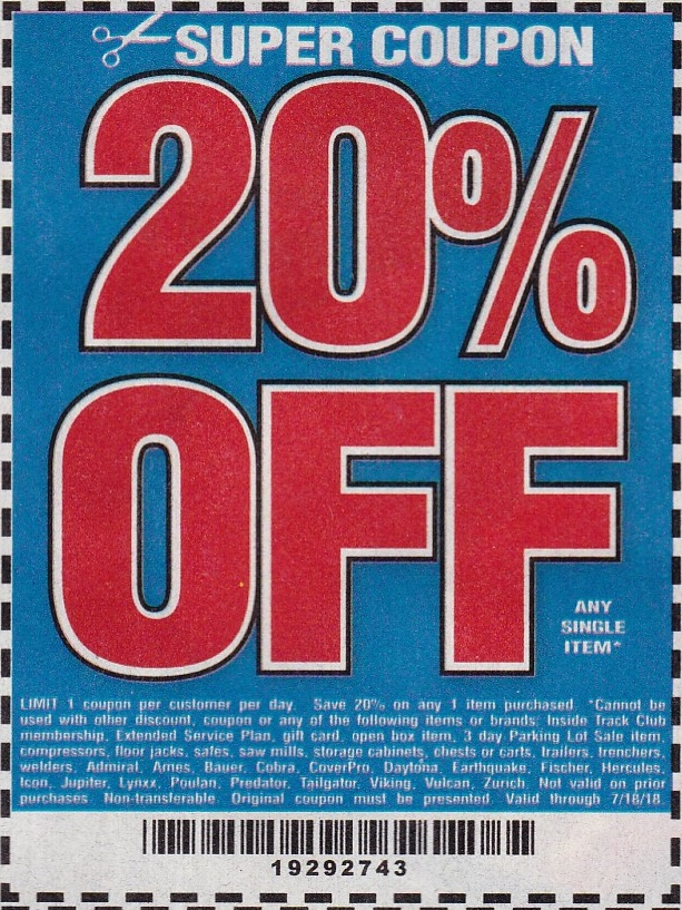 20% Off Single Item Coupon - Struggleville