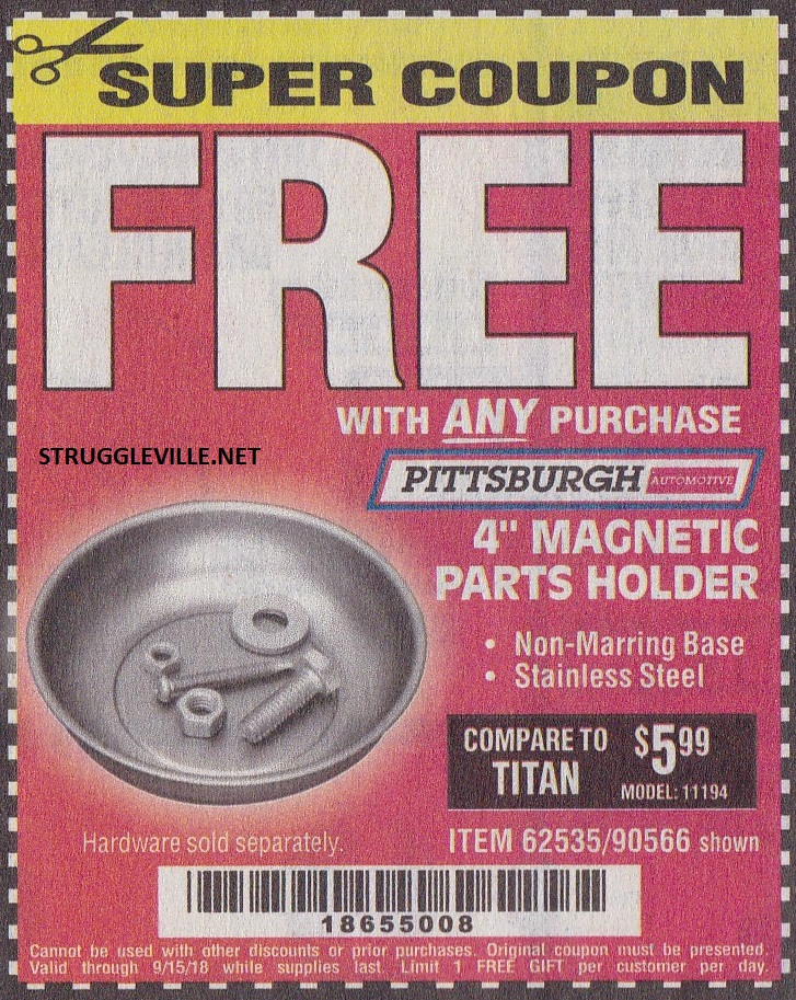 Harbor freight free item coupons struggleville if you have a coupon to submit send it to pjstruggleville fandeluxe Image collections
