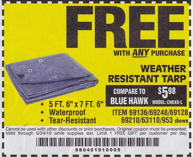 Harbor Freight Free Item Coupons Struggleville