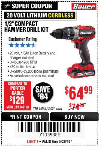Harbor Freight: 📢 NEW PRODUCT ALERT: The Power of Bauer Now