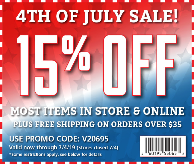 Fleet Farm Coupons Save 15 With July 19 Coupon Promo Codes >> Rockler 4th Of July Sale Save 15 On Most Orders Free Shipping