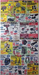 Harbor Freight August parking lot sale ad page 4