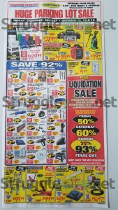Harbor Freight October 2019 Parking Lot Sale Ad