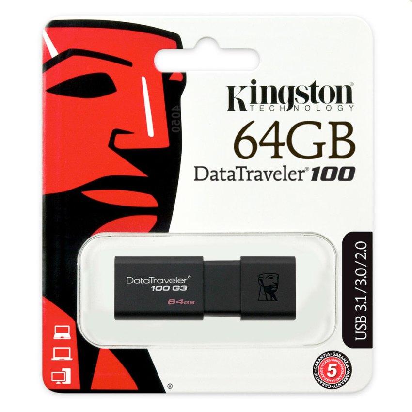 Kingston-DataTraveler-100-64GB-USB3.0-Flash-Drive-(DT100G364GB).PIC-1