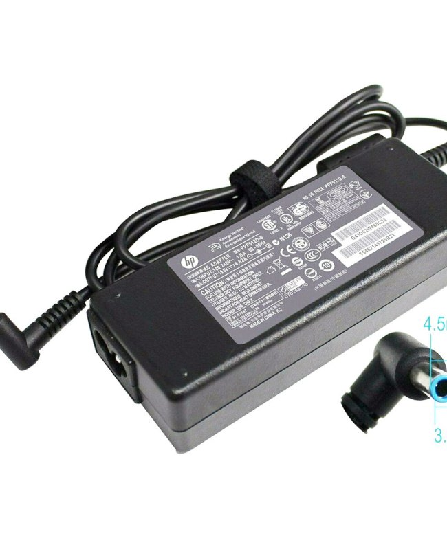 Replacement-Adapter-Charger-For-HP-Spectre-Pro-Laptops,-4.5mm-x-3.0mm---60W