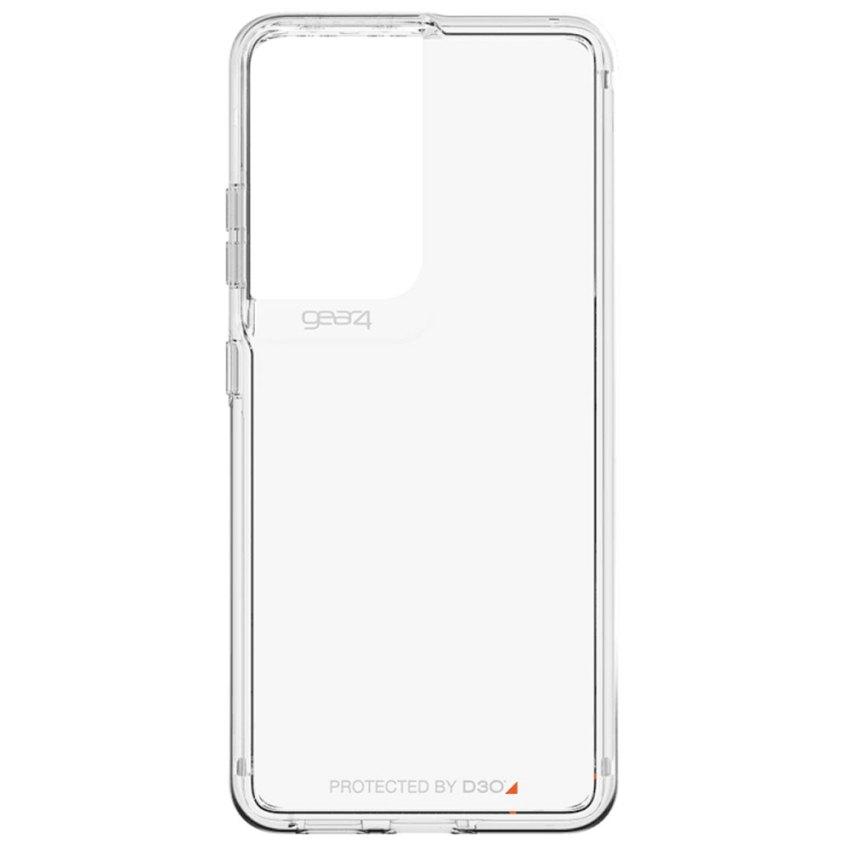 Gear4-D3O-Crystal-Palace-Case-For-Samsung-Galaxy-S21-Ultra-5G-(6.8)---Clear