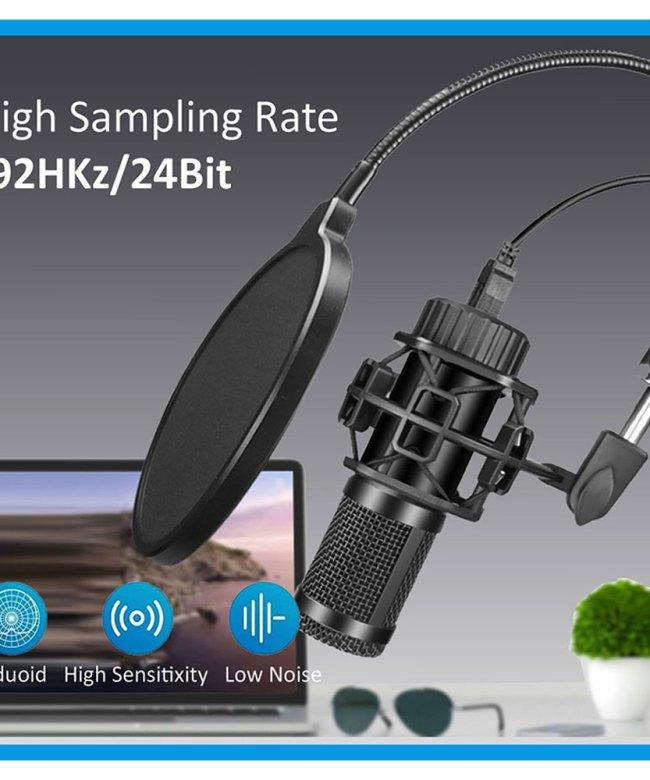 Philex USB Microphone Condenser w/Arm