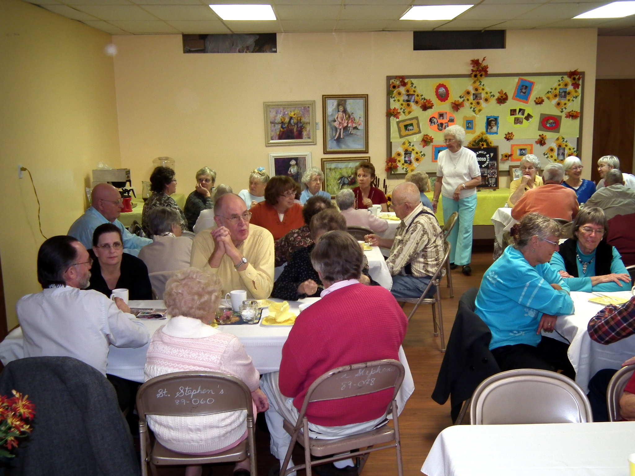 Announcement: 2016 Annual meeting Potluck Luncheon – St ...
