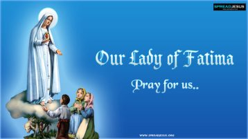 Our Lady of Fatima Pray for Us