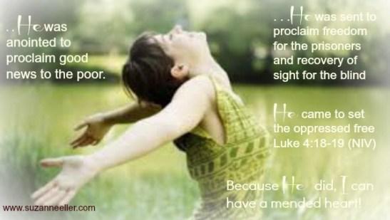 Luke 4:18-19 Set Prisoners Free
