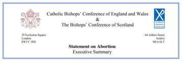 Abortion Statement Bishops