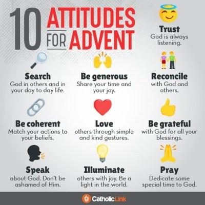 Advent Attitudes