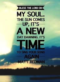 Hymn for Today - Matt Redman - 10,000 Reasons (Bless the Lord)