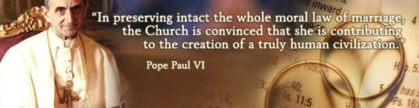 Humanae Vitae Pope Paul VI