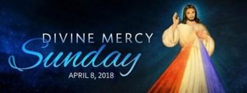 Divine Mercy Sunday 2018