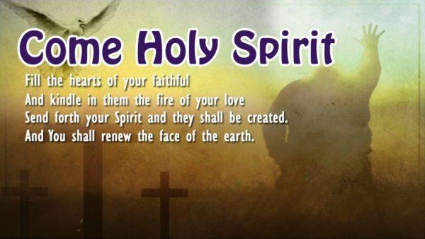 Come Holy Spirit Novena