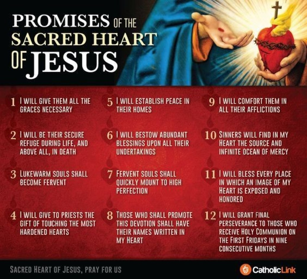 Promises of the Sacred Heart of Jesus