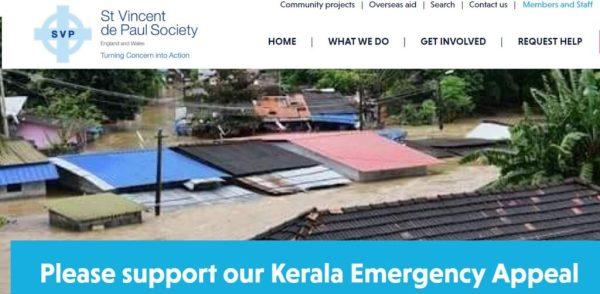 SVP Keral Appeal