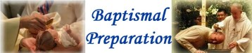 The Baptismal Preparation Sessions start again after Summer Holiday