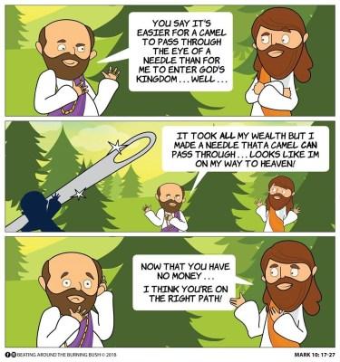 Cartoon 28th Sunday