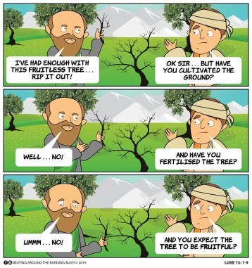 Cartoon Fig Tree