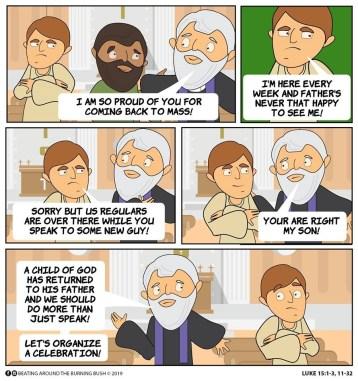 Cartoon Prodigal Son